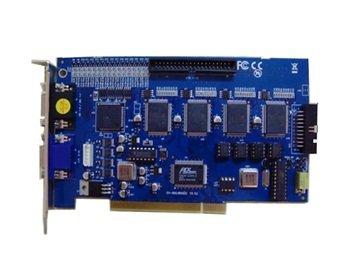 - 16 Audio/ Video Input Channel 120 FPS DVR PCI Video Capture Card (Blue)