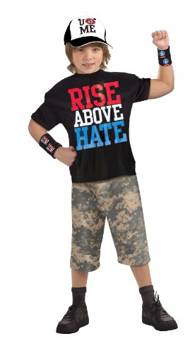 World Wrestling Entertainment Deluxe John Cena, Child's Costume - Large]()