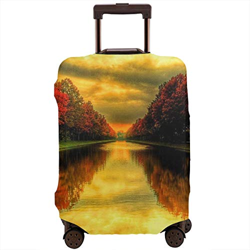 Travel Luggage Protective Covers Fall Elastic Zipper Thickened Resistant Scratch Dust Proof Washable Suitcase Cover -