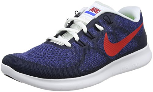 Running Photo White Racer 2017 NIKE Blue Rn Shoes Free 's Black Obsidian Blue Blue University Men 406 Red PUUCRqf