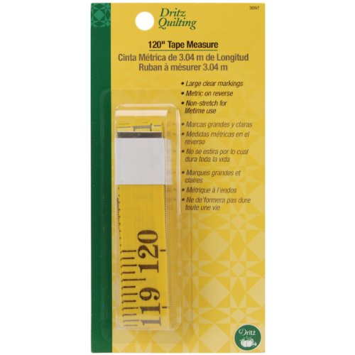 Dritz 3097 Tape Measure, 120-Inch ()