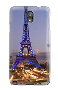 Premium Eiffel Tower Back Cover Snap On Case For Galaxy Note 3