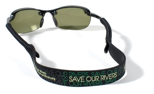 Croakies Original Sport Eyewear Retainer (16 Inches, Conservation American Rivers) - Croakies Shade
