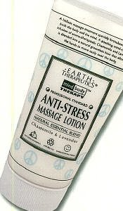 Earth Therapeutics Anti-stress Massage Lotion 5 Oz (Pack of 2)