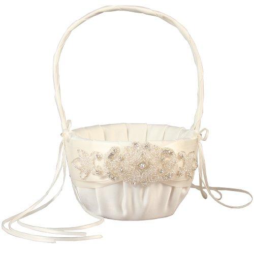 (Ivy Lane Design Wedding Accessories Flower Basket, Adriana,)