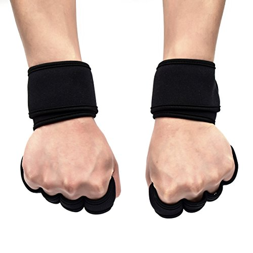 Strong Hand Protectors Gloves - Wrist Wraps Training Gloves for Fitness, weight training Pull-up, Gym, Workout, kickboxing, exercise, Weight Lifting