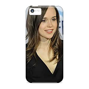 Awesome Ellen Page Flip Case With Fashion Design For Iphone 5c
