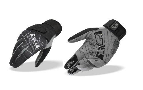 Eclipse Distortion Paintball - Planet Eclipse Distortion Full Finger Gen3 Paintball Gloves - Black - XL