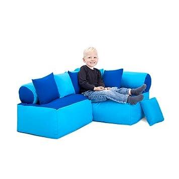 Funture Bue Turquoise Childrens Furniture Bean Bag Reading Sitting