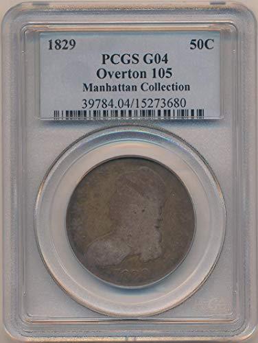 1829 P Bust Half Dollar Half Dollar G04 PCGS
