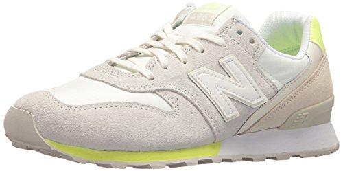 New Balance Frauen 696 v1 Sneaker Meersalz / Solargelb