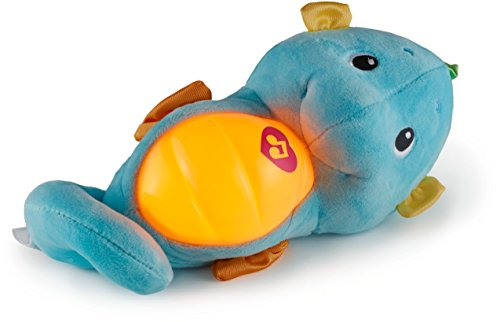 41OEzFTLYUL - Fisher-Price Soothe & Glow Seahorse, Blue