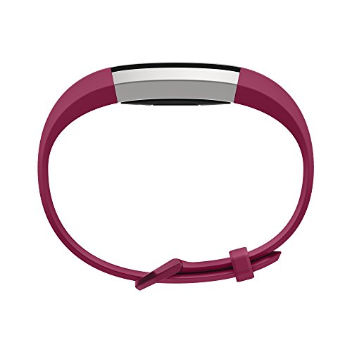 Fitbit Alta HR and Alta Classic Accessory Band, Fuchsia, Large