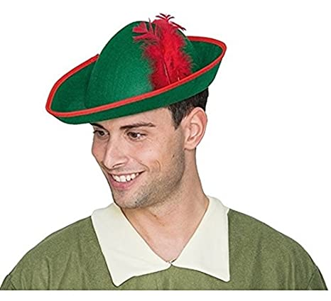 Cappello Elfo o Robin Hood  Amazon.it  Giochi e giocattoli f1ba3161ee95