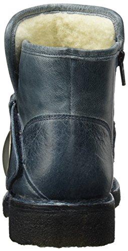 Ca'shott Blau West A14065 WoMen Biker Blue Boots wwp8qCH