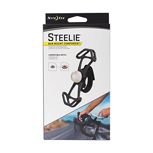 Nite Ize Original Steelie Bar Mount - Magnetic Smartphone Mount for Handlebars, Ideal for Bikes, Motorcycles, Strollers by Nite Ize