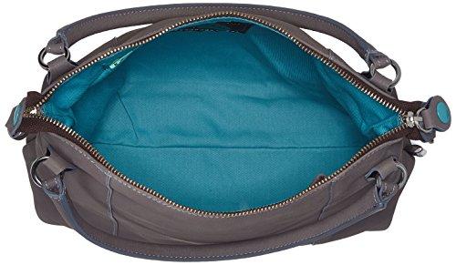 GABS - Gsac, Shoppers y bolsos de hombro Mujer, Grau (Iron), 3x16x23 cm (B x H T)