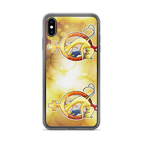 iPhone Xs Max Case Clear Anti-Scratch Sailor Venus - Crystal Planet Edit. Sailor Cover Phone Cases for iPhone Xs Max, Crystal Clear]()