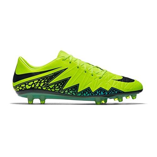 d01b9545a Galleon - Nike Men s Hypervenom Phatal II Fg Soccer Cleat Volt With Black Turqoise  (9.5)