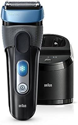 Braun CoolTec CT2cc - Afeitadora recargable, tecnología de enfriamiento activo: Amazon.es: Salud y cuidado personal