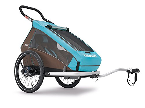 Croozer Kid Plus for 1 - 3 in 1 Single Child Trailer Sky Blue / Brown by Croozer
