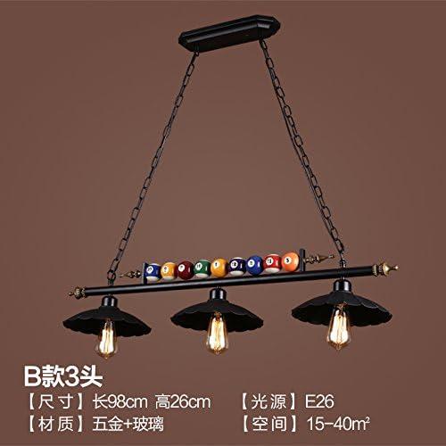larsure Vintage Modern Lámpara colgante de techo (lámpara colgante lámpara Industrial Style Loft Bar Candelabros ...