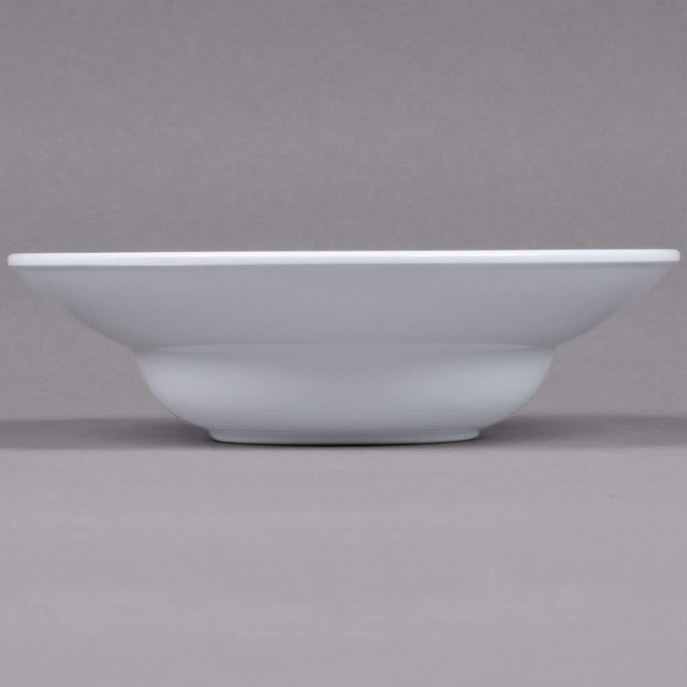 G.E.T. Enterprises 12 oz. 9.25'' White Round Bowl, Break Resistant Melamine, Minski by GET B-12-MN-W-EC (Pack of 4)