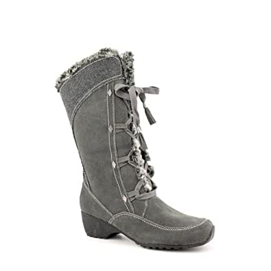 Amazon.com | Brilliant Amira Womens Size 8.5 Gray Leather