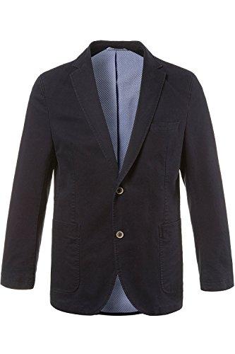 JP 1880 Men's Big & Tall Crease Resistant 2 Button Cotton Blazer Marine 38W x 32L 705497 - Mens Blazer Preppy