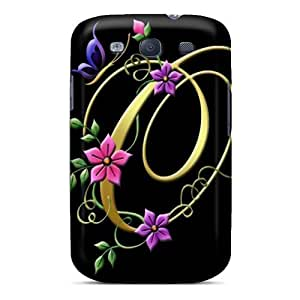 Galaxy S3 Case Cover My Creation Letter O Case - Eco-friendly Packaging