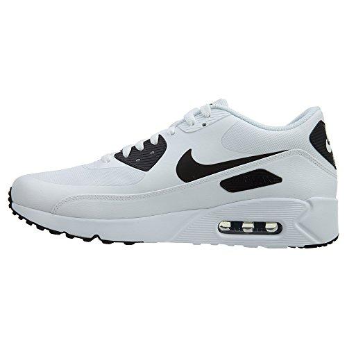 Nike Mens Air Max 90 Ultra 2.0 Sneakers Essenziali, Nero Bianco (bianco / Bianco Nero)