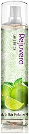 Rejuvera Korea Cosmetic Lime Detox Fragrance All-Over Body & Hair Essence Perfume Mist 4.3oz