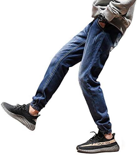 メンズ デニム ジョガーパンツ/ゆったり ジーンズ デニムジョガーパンツ (ST/No28014)