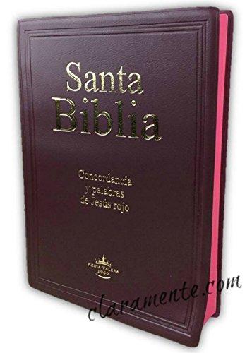 Santa Biblia Letra Gigante con concordancia, Reina-Valera ...