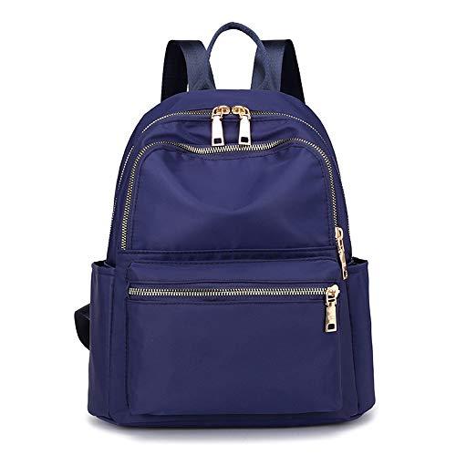 Campus Girl Studente Blu Zaino Casual colore Per Moda Panno Bambina Da Scolastico Viola Boy Sportivo Oxford Impermeabile Bag Lavoro Donna Jxth 7fqZwxq