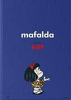 Mafalda 2019 Agenda anillada - Azul (Spanish Edition): Quino ...