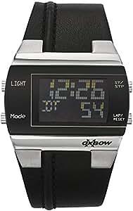 Oxbow Men`s Digital Dial Polyurethane Band Watch [4501603]