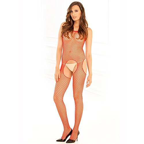 Rene Rofe Industrial Crotchless Bodystocking