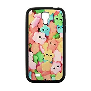 Cute Smile Stars Fashion Personalized Clear Cell Phone For Case HTC One M7 Cover