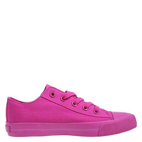 airwalk womens mono hot pink canvas legacee sneaker 8