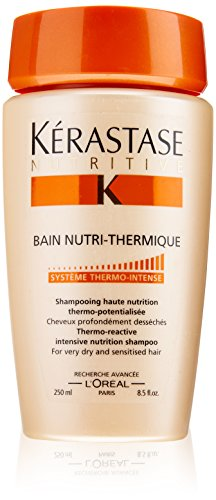 Kerastase Nutritive Bain Nutri Thermique Intensive Nutrition Shampoo For Very Dry and Sensitised Hair, 8.5 Ounce