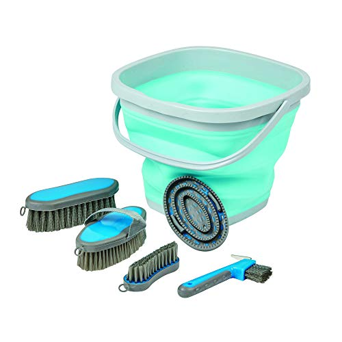 Roma Grooming Bucket Kit (One Size) (Light Blue) -