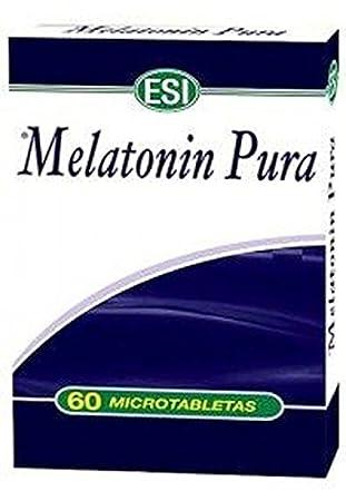Melatonina pura 60 microtabletas de Esi: Amazon.es: Salud y ...