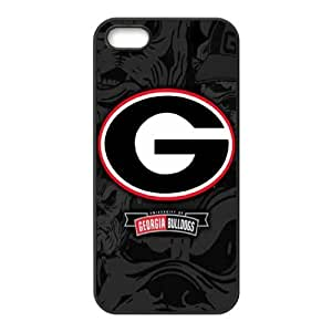 Customize Georgia Bulldogs Back Case for iphone 5,5S JN5S-1971