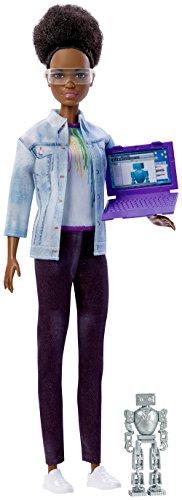 Barbie Career of the Year Robotics Engineer Doll, Dark Brown Hair