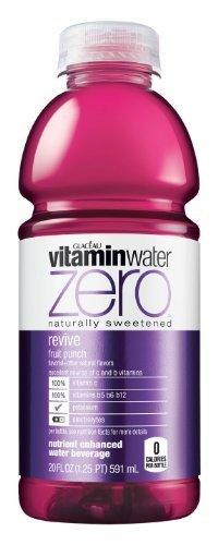 Vitamin Water Zero Revive, 20oz (24 Pack)