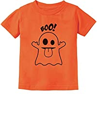Baby Boo Ghost Costume Cute Easy Halloween Toddler/Infant Kids T-Shirt