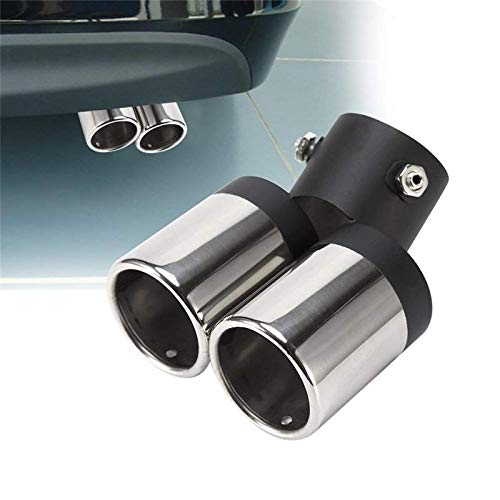 KANKOO Outlet Exhaust Tips Inlet Exhaust Tip Adjustable Exhaust Tip Diesel Exhaust Tip Stainless Steel To Give Chrome Effect Cover Trim Custom Fit: Amazon.co.uk: Kitchen & Home