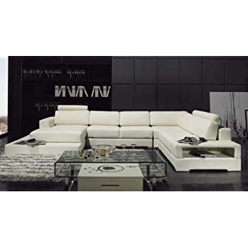 Amazon.com: My Aashis Arezzo - Sectional Sofa - D: Kitchen ...