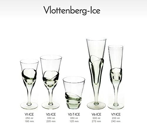 Fair Trade Vlottenburg V6-ICE Beer Glasses Pair